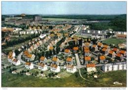 Carte Postale 57. Folschwiller  Et La Mine Vue D'avion Trés Beau Plan - France