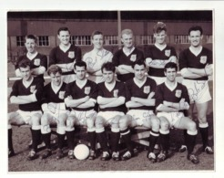 Dundee FC Scotland   CALCIO FOOTBALL TEAM ORIGINAL FOTO, BIG FOTO  Authograph SIGNATURE - Authographs