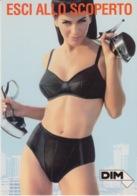 """PUBBLICITA' ADVERTISING CARTOLINA CITRUS N°51 - """"DIM"""" - Advertising"""
