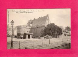 44 Loire Atlantique, Châteaux De Bretagne, Château De Nantes, Obtenu Avec Jumelle Cadot, Animée, Attelages, (E. Hamonic) - Nantes