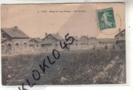 62 VIMY ( Pas De Calais ) - Mines De Vimy Fresnoy - Cité De Vimy - Maisons Des Ouvriers Animé - CPA Généalogie Dhé N°8 - Altri Comuni