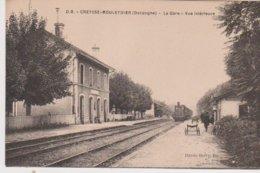 CREYSSE MOULEYDIER   La Gare - Andere Gemeenten