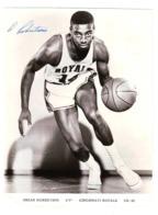 Oscar Robertson Cincinnati Royals NBA ORIGINAL FOTO, BIG FOTO  Authograph SIGNATURE - Authographs