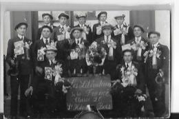 SAINT HILAIRE DU BOIS  CARTE PHOTO  GROUPE DE CONSCRITS  GROS PLAN CLASSE 1926   DEPT 49 - Autres Communes