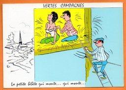 VERTES CAMPAGNES  LA PETITE BEBETE....   1966 Alexandre Carte Vierge N° 48169 - Humour