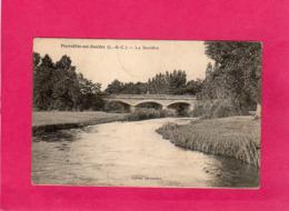 41, Loir-et-Cher, Pierrefitte-sur-Sauldre, La Sauldre, Pont, 1928, (L. Lenormand) - France