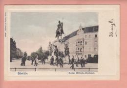 OLD POSTCARD - POLAND - STETTIN - SZCZECIN - 1904 - Polen