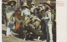 CPA PRECURSEUR REPUBLICA MEXICANA (MEXIQUE) MEXICO : VENDEDORES DE POLLOS - Mexique
