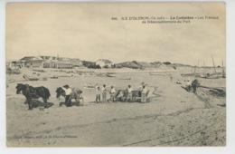 ILE D'OLÉRON - LA COTINIERE - Les Travaux De Désensablement Du Port - Ile D'Oléron