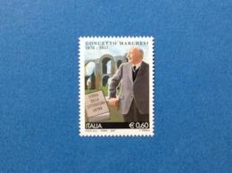 2007 ITALIA CONCETTO MARCHESI FRANCOBOLLO NUOVO STAMP NEW MNH** - 1946-.. République