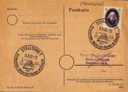 DDR KK 1952 Mit Stralsund Stempelung ... Ak482 - DDR