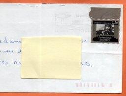 MAURY N° 2439 LOUIS FEUILLADE  ( Pliure )  Lettre Entière 110x220 N° KK 958 - Marcophilie (Lettres)