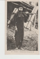 CPA PRECURSEUR INDOCHINE : TONKIN : PORTEUSE D'EAU MUONG BAO-HA - Vietnam