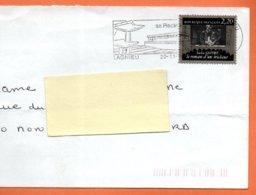 MAURY N° 2441 SACHA GUITRY  ( Pliure )  Lettre Entière 110x220 N° KK 959 - Marcophilie (Lettres)