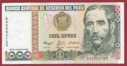 Pérou 1000 Intis   Du 26/06/1988  UNC (91) - Peru