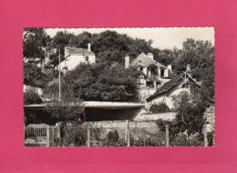 41, Loir-et-Cher, Montrieux-Naveil, Vue Sur Le Coteau, Vallée Du Loir, 1961,  (Valoire) - France