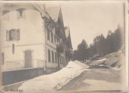 Hotel Le Terminus Sous Le Neige ( Photo Parry Cantal ?? ) - Luoghi