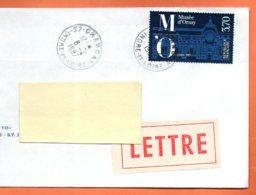 MAURY N° 2456   MUSEE D'ORSAY     Lettre Entière 110x220 N° KK 966 - Marcophilie (Lettres)