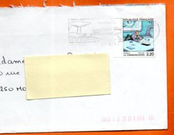 MAURY N° 2512   LA COMMUNICATION         Lettre Entière 110x220 N° KK 968 - Marcophilie (Lettres)