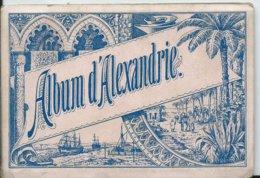 EGYPTE - ALBUM D' ALEXANDIE 12 Vues - Alexandrie