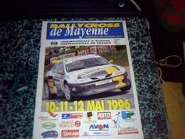 Sport Rallye Magasine  RALLYCROSS De MAYENNE 10 11 12 MAI 1996 - Sport