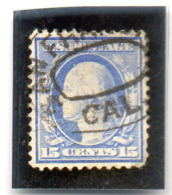 B - 1909 Stati Uniti - George Washington - United States