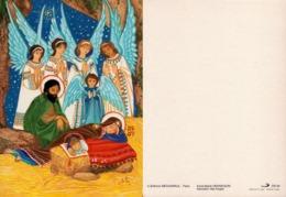 Hennequin Anne-Marie Adoration Des Anges Médiapaul CN29 - Peintures & Tableaux