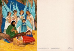 Hennequin Anne-Marie Adoration Des Anges Médiapaul CN29 - Pintura & Cuadros
