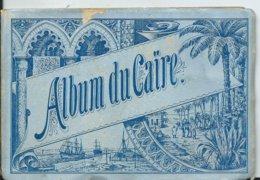 EGYPTE - ALBUM Du  CAIRE   12 Vues - Le Caire