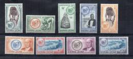 SIERRA LEONE - 1961 - Indipendenza - 9 Valori - Nuovi - Linguellati * - (FDC17024) - Sierra Leone (1961-...)