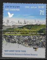 ISRAEL, 2019, MNH,  ENVIRONMENT, ARIEL SHARON PARK, STILIZED BIRDS, 1v - Protection De L'environnement & Climat