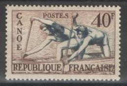 France - YT 963 * MH - 1953 - Canoë - Jeux Olympiques D'Helsinki 1952 - Kanu