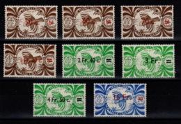 Nlle Calédonie - YV 249 à 256 N** Serie De Londres Surchargée Cote 11+ Euros - New Caledonia