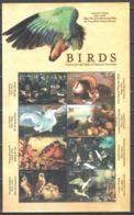 Gambia 2000 - Birds Paintings - Mi.3862-69 - Sheet - MNH (**) - Künste