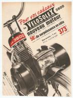 COUPURE De PRESSE 1966 - PUBLICITÉ VÉLOSOLEX 3800 NOUVEAU MOTEUR VÉLO SOLEX - RENÉ RAVO - Motor Bikes