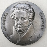 MEDAILLE DE TABLE GEORGES CUVIER PAR J. H. COEFFIN - MAMMOUTH - France