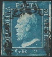 Sicilia, 2 Grana I Tavola NA Azzurro Vivo N.6f Cv 500 - Sicilia