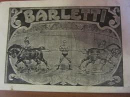 Cirque BARLETTI - Numéro De Force - Francia