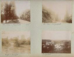 210919 - 8 PHOTOS 1897 - INDRE Du Blanc Fontgombault Ciron Donjon De Romefort Le Plessis Château Raoul - Autres Communes
