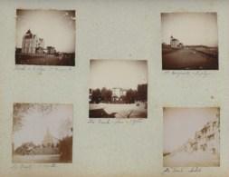 210919 - 10 PHOTOS 1897 - 44 LA BAULE Domaine Sainte Marguerite Plage De L'église Chapelle Châlets Plage - La Baule-Escoublac