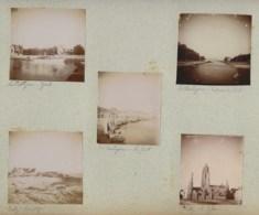 210919 - 10 PHOTOS 1897 - 44 LA BAULE Châlets Institut Verneuil LE POULIGUEN Yacht Port Plage BATZ SUR MER église - Le Pouliguen