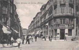 MALAGA - CALLE MARQUES DE LARIOS  ~ AN OLD POSTCARD #96942 - Málaga