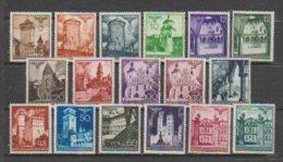 Allemagne ~ Pologne Gouvernement General  1940  N° 56 à 67A Neuf ** Sauf 62 +62A Obl. (17 Valeurs) - 1939-44: 2. WK