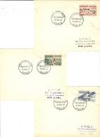 28 Nov. 1953 - F D C - 1er Jour D'émission  Série Jeux Olympiques D'Helsinki - 6 Valeurs - Sommer 1952: Helsinki
