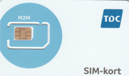 DENMARK - TDC M2m, GSM Card , Mint - Danemark
