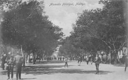 MALAGA - ALAMEDA PRINCIPAL  ~ AN OLD POSTCARD #96944 - Málaga