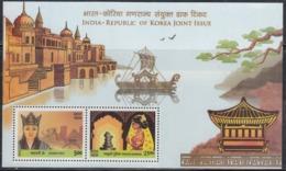 INDIA 2019 MS INDIA KOREA 2nd Joint Issue, Queen HEO, Princess SURIRATNA, Miniature Sheet MNH(**) - India