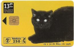 Spain - Telefónica - XIII Festival Publicitario, Cat - P-331 - 05.1998, 7.000ex, Mint (check Photos!) - España