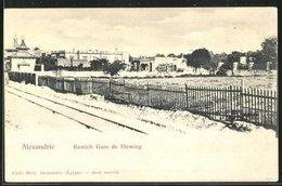 CPA Alexandrie, Ramleh Gare De Fleming - Egypte