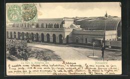 CPA Alexandrie, La Gare De Moharrem Bey - Egypte
